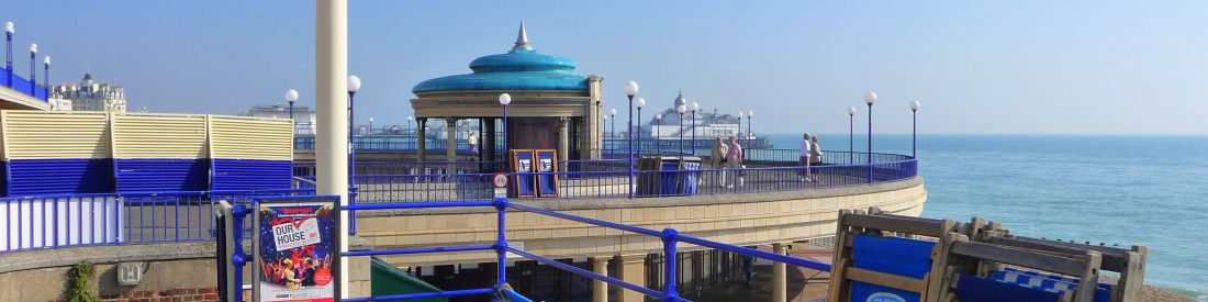 eastbourne bandstand in summer alex askaroff